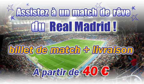 Billetterie Real Madrid